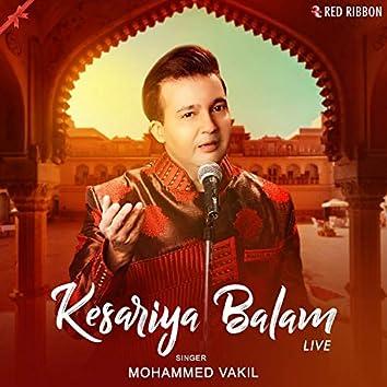Kesariya Balam (Live)