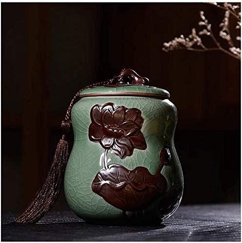 HGSDKECFS Portland Mall Mini Cremation Ranking TOP16 Urn Handmade Urns Ashes Pet Ceramic