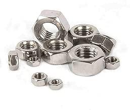 FidgetKute 5-20PCS 304 Stainless Steel Size M8 - M24 Thin Hex Nuts Left Hand Fine Thread M18 x 1 5pcs