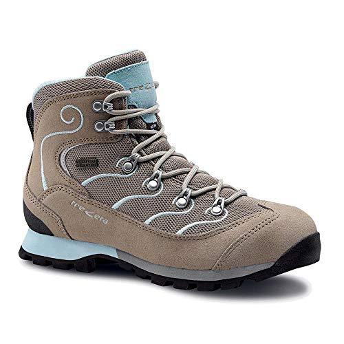 Trezeta Active Glitter WP Chaussures de Sport Beige/Bleu Marine - - Beige Wasserblau, 38 EU