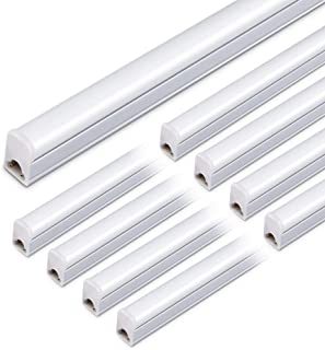 2PCS 10W Led Tube Lampe t5 60CM 4000K /Économie d/Énergie Lampe Fluorescente Pour Le Bureau /à Domicile Garage /École Restaurants
