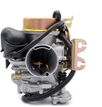 PUCKY CVK 32MM Carburetor Carb Keihin Replacement Motorcycle for All Scooters Atv with GY6 150-250CC 150CC 200CC 250CC Engine ATV Dirt Bike