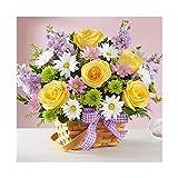 Aiyyoo Kit de broderie diamant 5D avec bouquet de fleurs, 10, As the picture shown