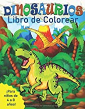 Dinosaurios Libro de Colorear para Niños de 4 a 8 Años