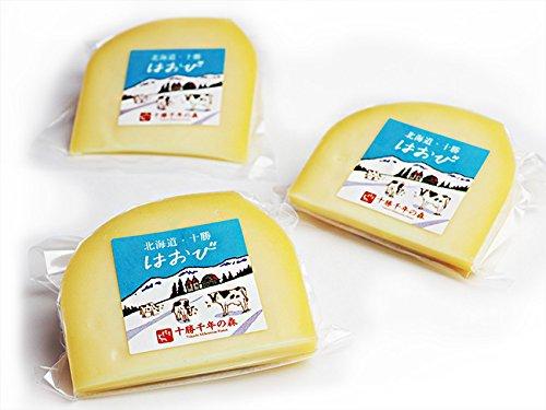 はおび100g×3個 (北海道清水町千年の森 キサラ・ファーム) ナチュラルチーズ セミハード リンデットタイプ【クリーミーなちーず】濃厚Cheese