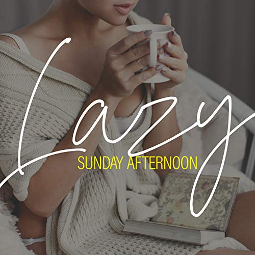 Lazy Sunday Afternoon - Relax with Moody Jazz, Book, Sofa and Tea, Family Time, Rainy Day, Stay at Home