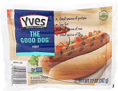 Yves, Veggie The Good Dog, 12 Ounce