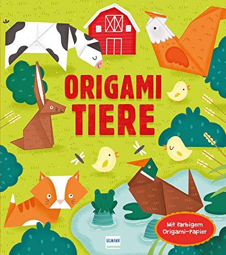 Origami Tiere: Mit 24 Blatt buntem Origami-Papier