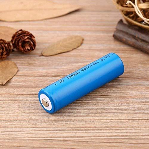 Baterías de baterías Recargables de baterías de Iones de Litio 18650 Batería de ión de Litio 2200mAH 3.7V ICR Baterías de Litio Células-2pcs