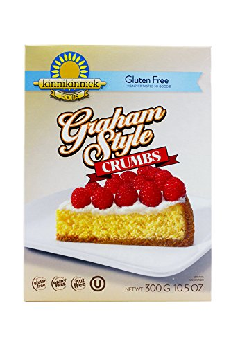 Kinnikinnick Crumbs - Graham Style Gluten Free, 10.5-Ounce (Pack of 6)