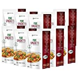 PureSpaghetti Espaguetis Konjac Sin Gluten 10 Pack 200 gramos | Vivir Sin Gluten Con Harina Gluten Free Con La Pasta...
