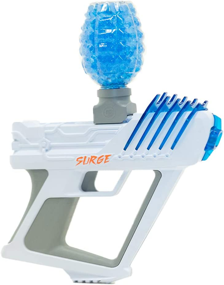 Amazon Com Gel Blaster Surge Toy Blaster Shoots Eco Friendly Water Gellets The Next Evolution In Backyard Fun And Outdoor Games For Boys And Girls Ages 12 Toys Games