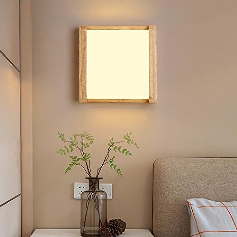 StiefelU LED Wandleuchte nach oben und unten Wandleuchten Wandleuchte Holztreppe LED Scheinwerfer an der Wand angebrachte Nachttischlampen aus Holz