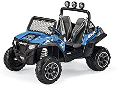 2 Independant Seats Adjustable in 2 Positions with Safety Handle to Hold Onto The large off-road wheels with superior traction offer champion-like performance on all terrains, even the roughest ones. 12v Rechargeable Battery with 2 x 230W (460W total...