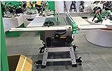 Gowe, sega da tavolo scorrevole di alta qualità, per lavori fai da te, per legno, 254 mm, sega elettrica da 2600 W, 220 V, 50 Hz, 25,4 cm