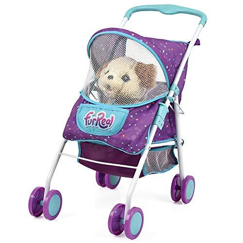 Hauck Toys FurReal Carrito Pet Traveller para Mascotas FurReal Friends y Otros Peluches - Lila Azul