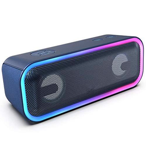 XZJJZ Wireless Bluetooth Lautsprecher 24W Impressive Sound mit tiefen Bässen...