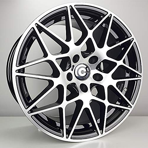 Carbonado LLANTA 5x120 Mod. M4 GTS 18 Pulgadas Negro Pulido