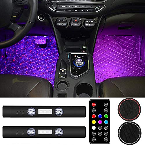RGB LED Starry Car Interior Lights - Ambient Atmosphere...