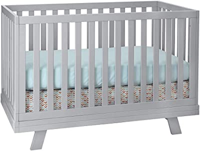 Westwood Design Reese 3 in 1 Convertible Crib, Fog
