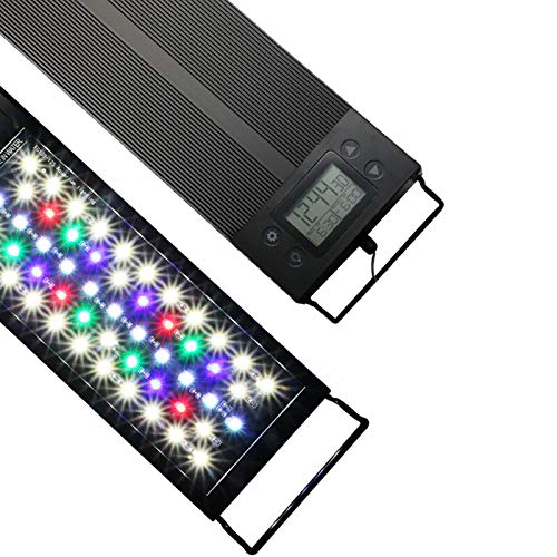 Kaiyashengled Luz LED Acuario, Iluminación LED para Acuarios Plantados Lámpara LED para Peceras Bombilla LED Impermeable para Acuarios de...