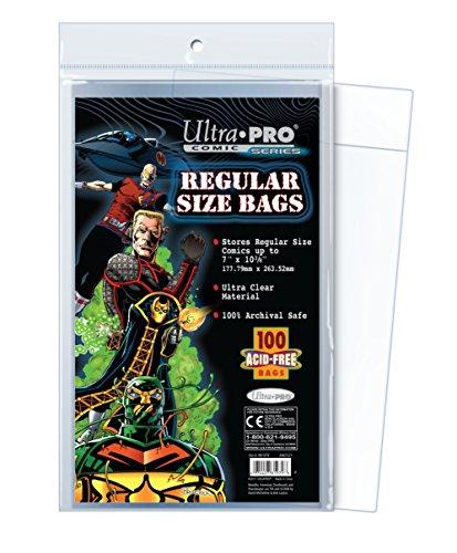 Ultra Pro Comic Series Regular Size Bags Small