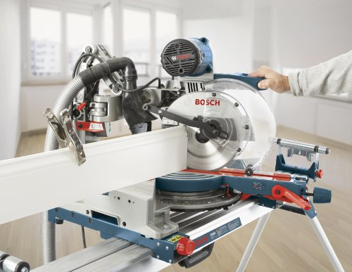 Cutting a Baseboard with a Miter Saw