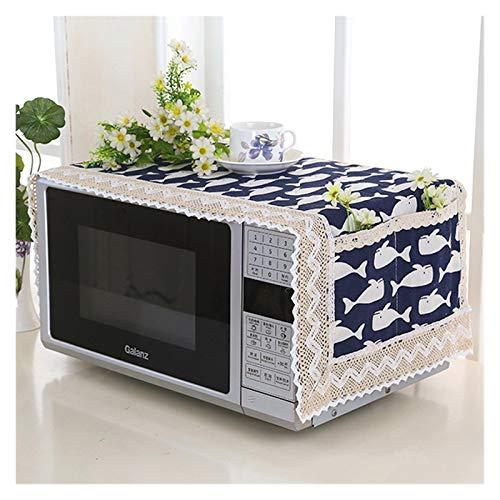 JINAN 1 housse de protection pour four à micro-ondes avec sac de rangement - Accessoires de cuisine - Décoration d'intérieur (couleur : 469893)