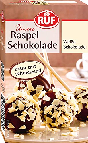 RUF Raspel Schokolade Weiss