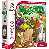 Conejos recolectores - Smart Games, Juegos de Mesa, Juego Educativo multijugador para niños, Jugar en Familia, Juguetes educativos niños, Smartgames, +4