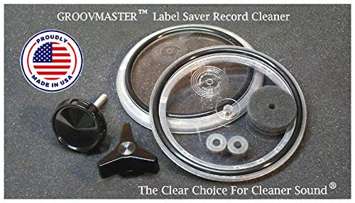 Groovmaster Label Saver Vinyl Record Cleaner - The Clear Choice For Cleaner Sound
