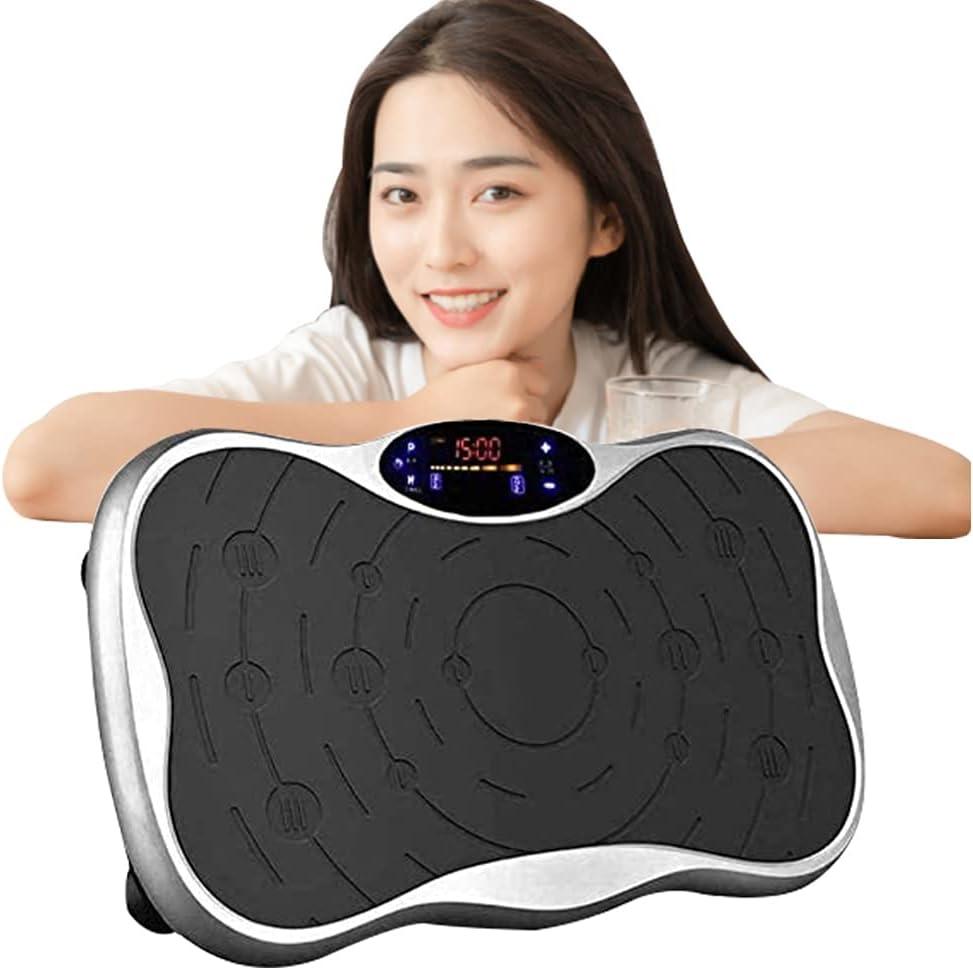 AORTD 最新 ブルブル振動マシン 3D振動 5種類のプログラムモード 振動調節99段階 振動マシーン 健康 器具 ブルブルマシン ぶるぶるマシン 室内お腹 ブルブル マシン 産後 器具 有酸素運動 体幹強化