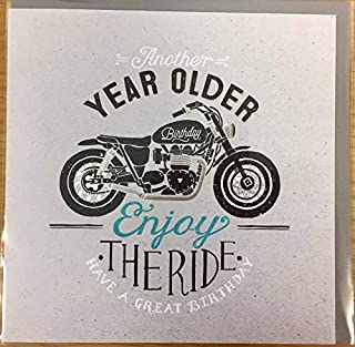 Hotchpotch Greetings Card - So Macho - Motorcycle Birthday
