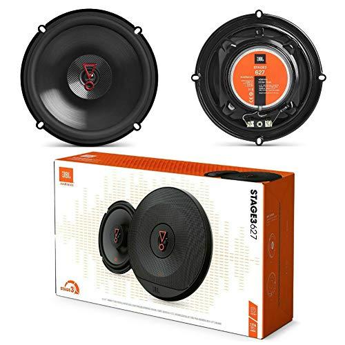 2 Altavoces Compatible con JBL STAGE3 627 2 vías coaxial 6.5' 16.00 cm 160 mm 45 vatios rms 225 vatios MAX impedancia 3...