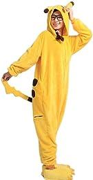 Costume Anime Pokémon à capuche pyja