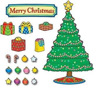 Carson Dellosa – Christmas Tree Mini Bulletin Board Set, Classroom Décor, 51 Pieces
