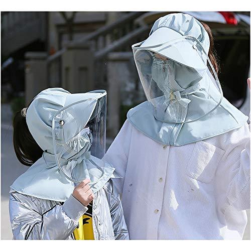 Huili Anti-Escupir Protector Facial - Careta protección