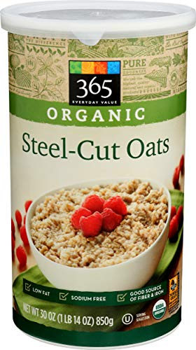365 Everyday Value, Organic Steel Cut Oats, 30 oz