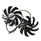 Beaster FDC10H12S9-C 85mm Video Card Fan for Sapphire Radeon Dual-X Fan R9 270 280 280X 285 HD7850 7870 7950 7970 4Pin Power Connector