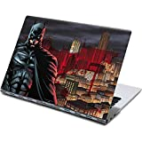 Skinit Decal Laptop Skin Compatible with Yoga 910 2-in-1 14in Touch-Screen - Officially Licensed Warner Bros Batman in Gotham City Design