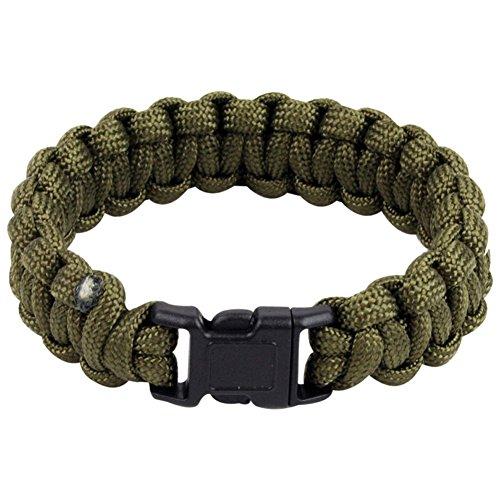 Highlander Paracord Bracelet with Quick Release Buckle