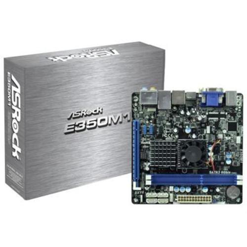 ASRock E350M1 AMD E-350 Dual-Core/ AMD A50M/ DDR3/ SATA3/ A&V&GbE/ Mini-ITX Motherboard