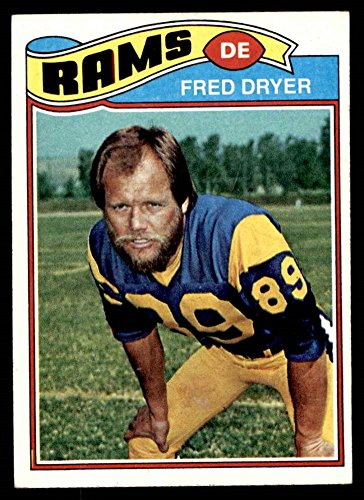 1977 Topps # 513 Fred Dryer Los Angeles Rams (Football Card) EX Rams San Diego St