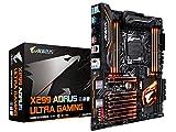GIGABYTE X299 AORUS Gaming 9 (Intel LGA 2066 Core i9/ ATX /3M.2 Thermal Guard/Front USB 3.1/ ESS Sabre Audio/ RGB Fusion / Dual LAN/ Killer WIFI/3 Way SLI Motherboard)