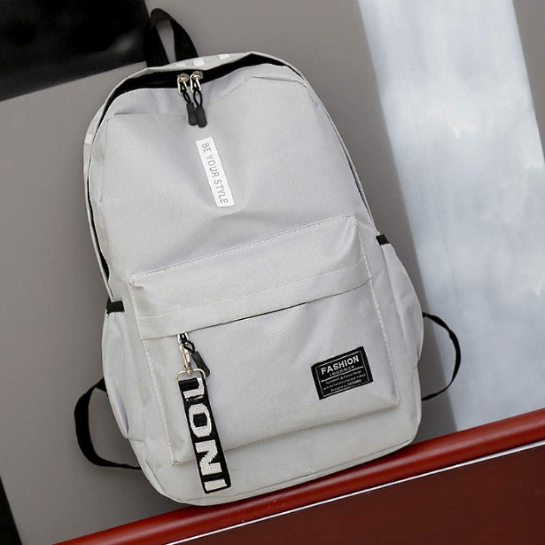 d2e5f89fdd2a Casual Backpack Male Korean of Travel Junior high School College ...