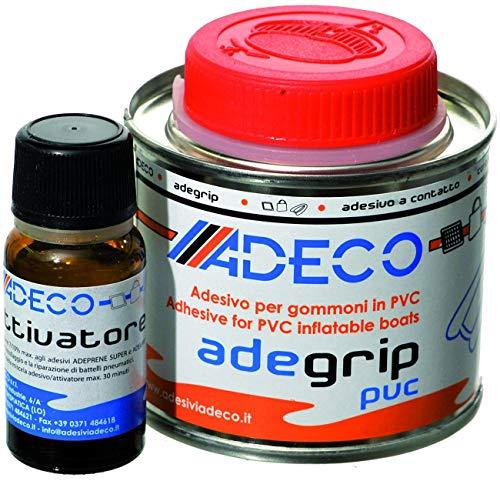 Adeco Adegrip PVC rubberboot lijm 2-componenten 530g