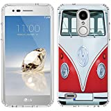 LG K30 Case [VW Transporter](Clear) PaletteShield Flexible Slim TPU Skin Phone Cover (fit LG K30/ Premier Pro/ X410) -  LGK30-PaletteShield