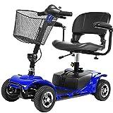 Sedia a Rotelle Elettrica, Scooter Elettrico Per Disabili E Anziani Di Piccole,pieghevole Leggero...