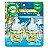 Air Wick Real Moments Repuestos para Aromatizante de Ambiente Continuo Eléctrico, Aromas Turquoise, Oasis Madera, Rocío de Mar y Brisa Cálida, 21ml