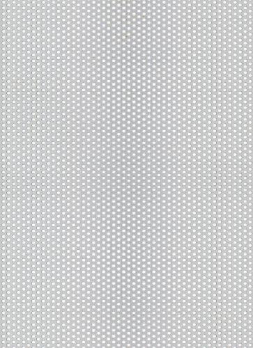 GAH-Alberts Chapa Perforada, Aluminio, 250 x 500 x 0,8 mm